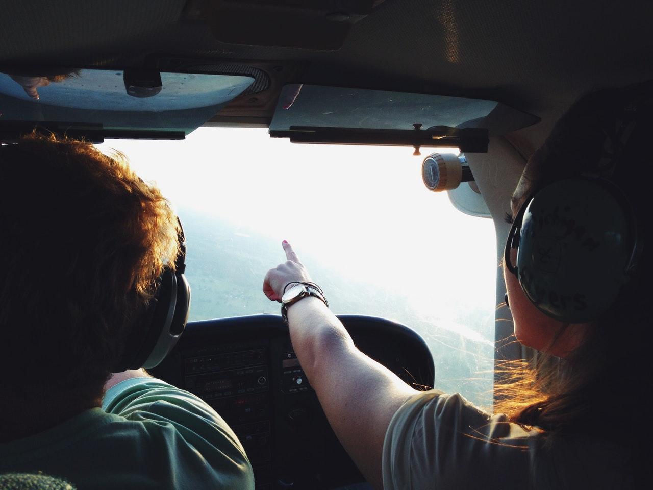 Pilots talking