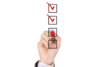 Using checklists to help you run a more effective business